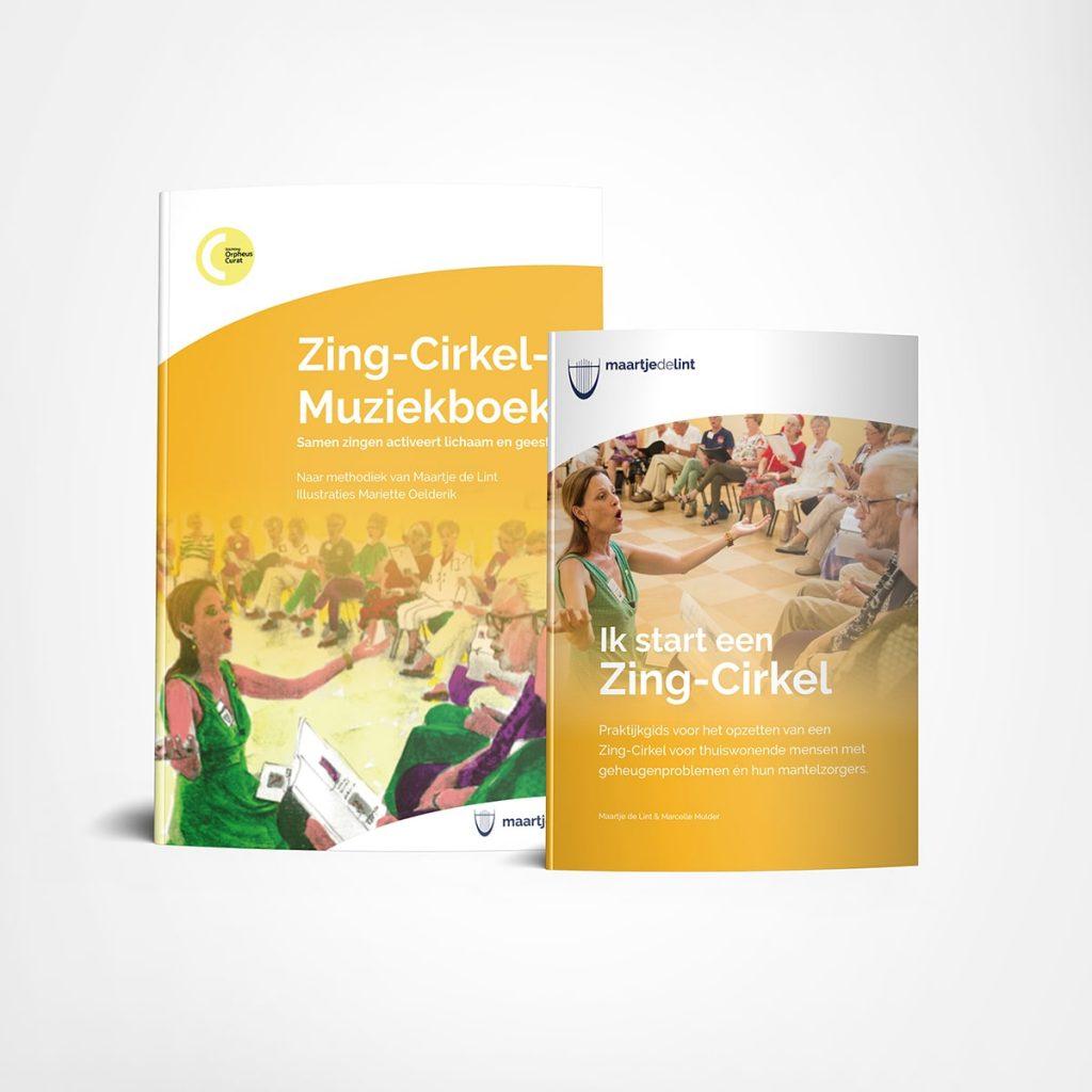 Zing-Cirkel Boekenpakket Zingen in de Zorg